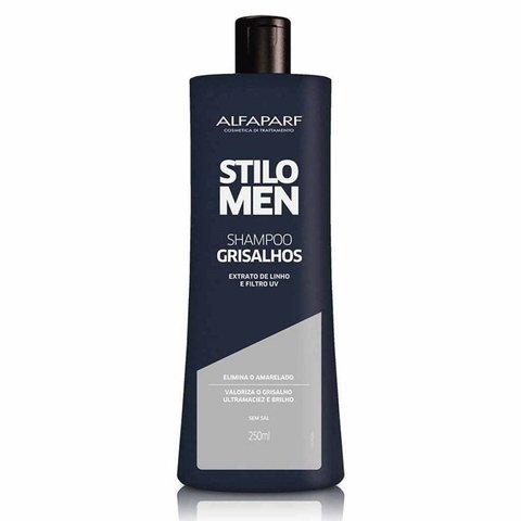 Shampoo Grisalhos Stilo Men 250ml [Alfaparf]