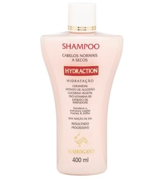 Shampoo Hydraction 400ml [Mahogany]