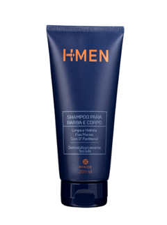 Shampoo para Barba e Corpo H-Men 200ml [Hinode]