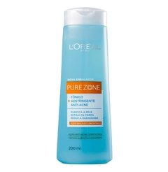 Tônico Facial Adstringente Anti-cravos Pure Zone 200ml [L'oréal Paris]