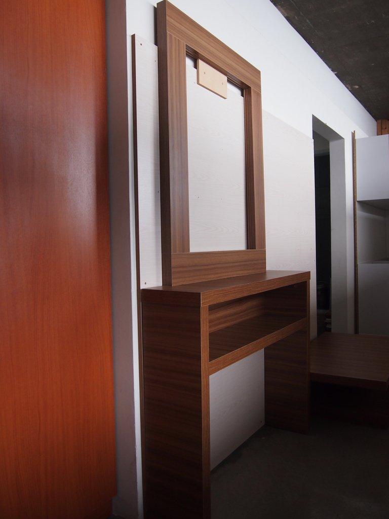 Dressoir mesa de arrime recibidor con marco para espejo - Mesa para recibidor ...