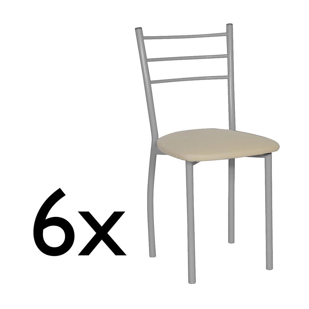 Pack 6 sillas Valencia de comedor