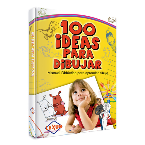 100 Ideas para dibujar - Editorial LEXUS