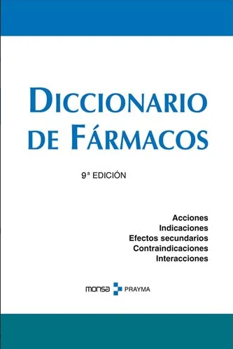 Diccionario de Fármacos - Editorial MONSA