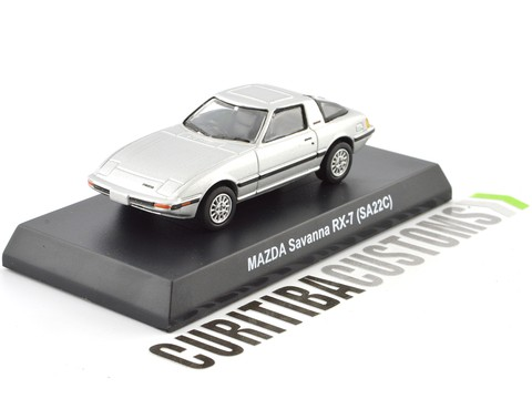 Kyosho 1:64 Mazda Savanna RX-7 (SA22C) - Silver on internet