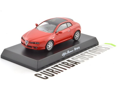 Kyosho 1:64 Alfa Romeo Brera - Red on internet
