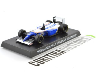 Aoshima 1:64 Willians F1 FW16 #0 D. Hill (1994)