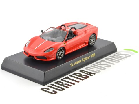 Kyosho 1:64 Ferrari Scuderia 16M - Red Orange - buy online