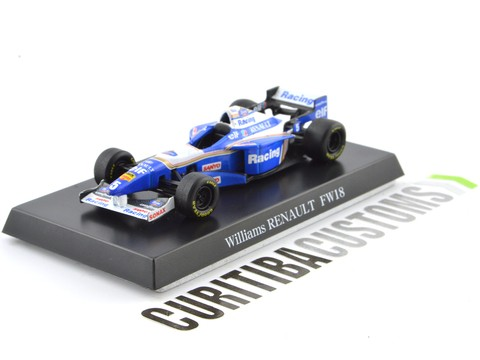 Aoshima 1:64 Willians F1 FW18 #5 D. Hill (1996)