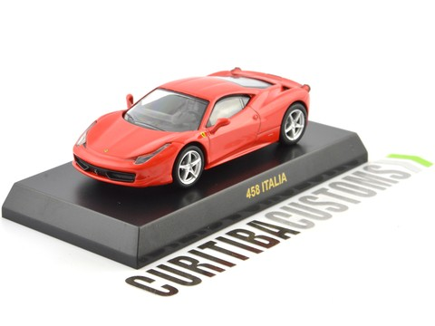 Kyosho 1:64 Ferrari 458 Italia - Red Orange - buy online