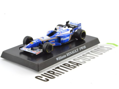 Aoshima 1:64 Willians F1 FW18 #6 J. Villeneuve (1996)