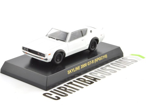 Kyosho 1:64 Skyline 2000GT-R (KPGC110) - White on internet