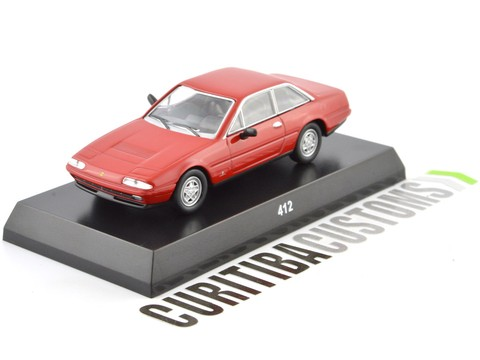 Kyosho 1:64 Ferrari 412 - Red