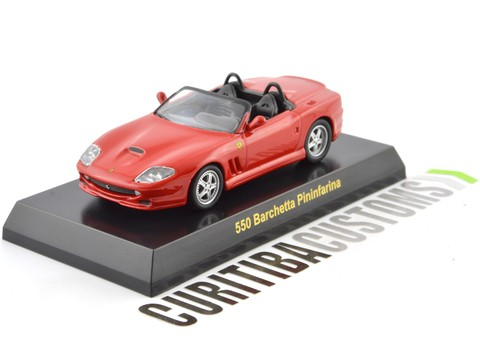 Kyosho 1:64 Ferrari 550 Barchetta - Red