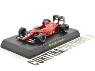 Kyosho 1:64 Ferrari F1-89 late version #28 G. Berger (1989)