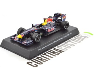 Kyosho 1:64 Suzuka's Legends 2010 Red Bull RB6 #5 S. Vettel