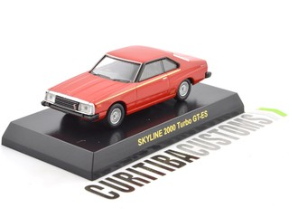 Kyosho 1:64 Skyline 2000 Turbo GT-ES - Red