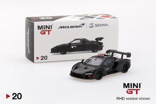 PRÉ VENDA MiniGT 1:64 McLaren Senna Onyx Black on internet