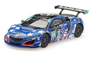 PRÉ VENDA MiniGT 1:64 Mini GT Honda NSX GT3 Uncle Sam