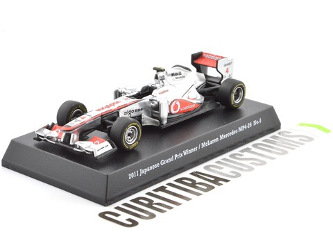 Kyosho 1:64 Suzuka's Legends 2011 McLaren MP4-26 #4 J. Button