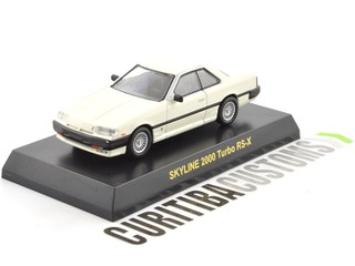 Kyosho 1:64 Skyline 2000 Turbo RS-X - White