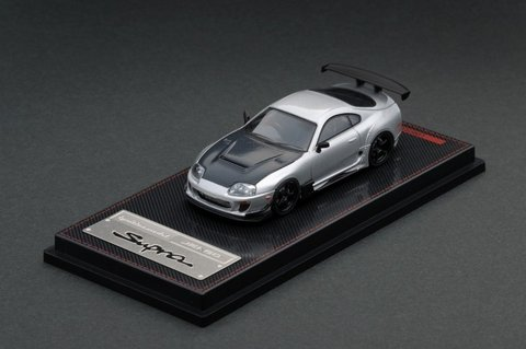 PRÉ VENDA Ignition Model 1:64 Toyota Supra JZA80 RZ Silver