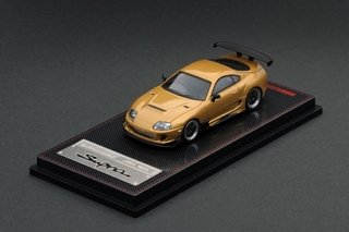 PRÉ VENDA Ignition Model 1:64 Toyota Supra JZA80 RZ Gold