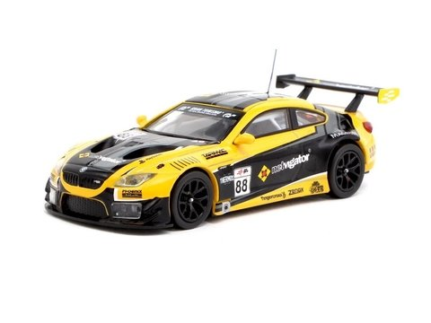 PRÉ VENDA Tarmac 1:64 BMW M6 GT3 eRacing Grand Prix Hong Kong Season 1