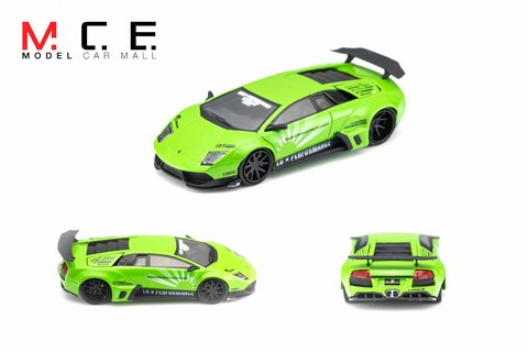 PC Club 1:64 Lamborghini Murciélago LB Performance Green