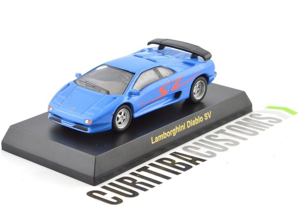 Kyosho 1 64 Lamborghini Diablo Sv Azul
