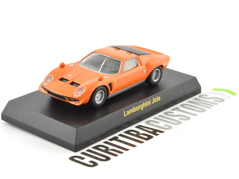 Kyosho 1:64 Lamborghini Jota - Orange