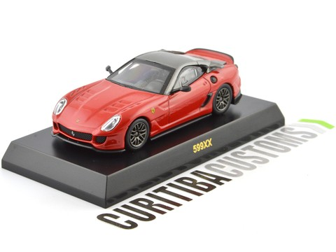 Kyosho 1:64 Ferrari 599XX - Red Orange