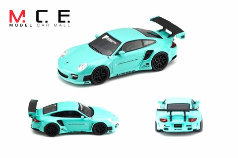 PRÉ VENDA MCE Resina 1:64 Porsche 911 LB Performance Tiffany Blue - buy online