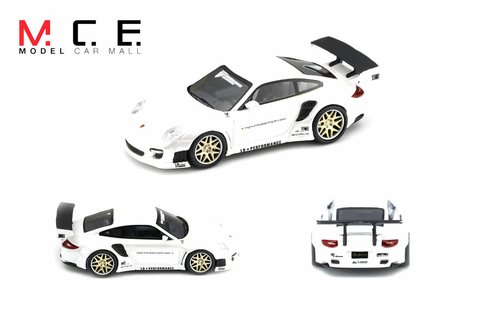 PC Club 1:64 Porsche 911 LB Performance Pearl White - comprar online