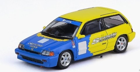 PRÉ VENDA Inno64 1:64 Honda Civic Si E-AT Gr.A Tuned by Spoon Sport