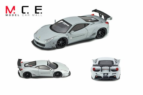 PC Club 1:64 Ferrari 458 LB Performance Cinza Fosco - comprar online