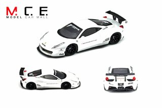 PC Club 1:64 Ferrari 458 LB Performance Pearl White - comprar online