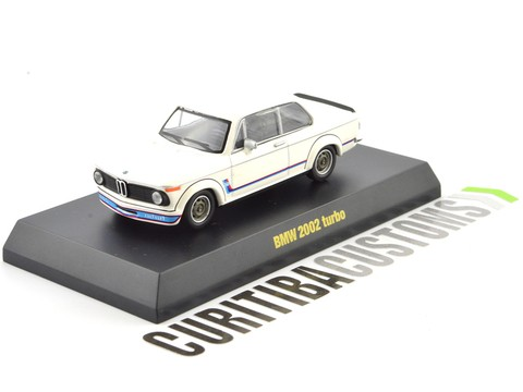 Kyosho 1:64 BMW 2002 Turbo - Branco