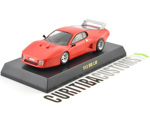 Kyosho 1:64 Ferrari 512 BB LM - Red Orange - comprar online