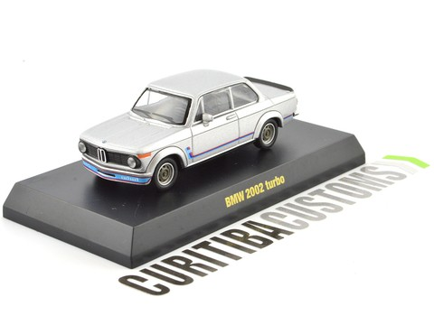 Kyosho 1:64 BMW 2002 Turbo - Prata