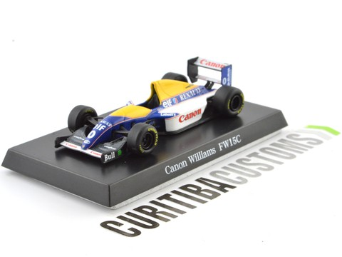 Aoshima 1:64 Willians F1 FW15C #0 D. Hill (1993)