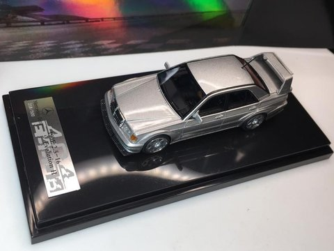 Error 404 1:64 Mercedes Benz Evolution 2 Prata