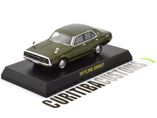 Kyosho 1:64 Skyline 2000GT - Green