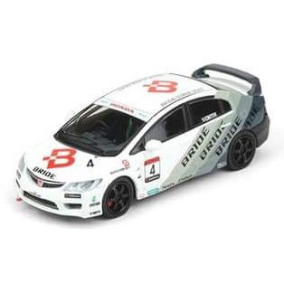 PRÉ VENDA Inno64 1:64 Honda Civic Type R FD2#4 BRIDE