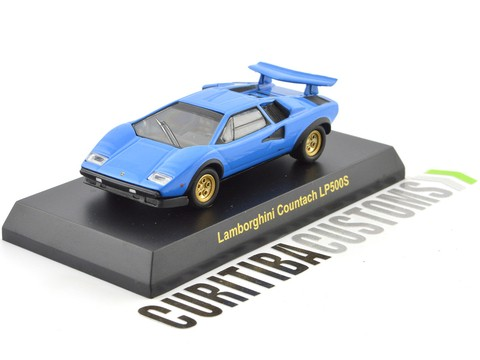 Kyosho 1:64 Lamborghini Countach LP500S - Light Blue