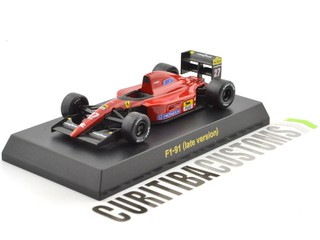 Kyosho 1:64 Ferrari F1-91 late version #27 A. Prost (1991)