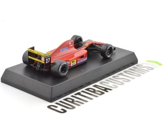 Kyosho 1:64 Ferrari F1-91 late version #27 A. Prost (1991) - buy online