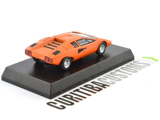 Kyosho 1:64 Lamborghini Countach LP400 - Orange - buy online