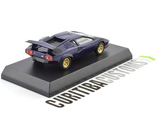 Kyosho 1:64 Lamborghini Countach LP500S - Dark Blue  - buy online
