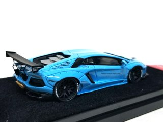PRÉ VENDA Resina 1:64 LB Performance Lamborghini LP700-4 Aventador 2.0 Wide Body - Azul - buy online